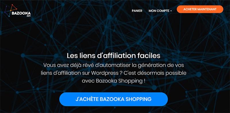Bazooka Shopping, générateur de liens